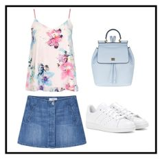 """backpack contest-"" by pat-rcs ❤ liked on Polyvore featuring MANGO, Dolce&Gabbana and adidas"