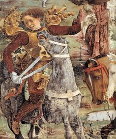 Francesco del Cossa Allegory of March: Triumph of Minerva (detail) between 1476 and 1484 Medium fresco Palazzo Schifanoia Roman Gods, Peter Paul Rubens, Palazzo, Italian Renaissance, Art Database, 15th Century, Bologna, Fresco, Art Boards