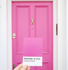 "9,733 Likes, 41 Comments - PANTONE (@pantone) on Instagram: ""A beautiful door colors the world with opportunity. :@cestmaria"""