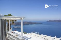 Mill Houses Elegant Suites - Luxury suites in Firostefani Santorini overlooking the Caldera Santorini Suites, Marina Bay Sands, Greece, Luxury, World, Building, Houses, Pictures, Elegant