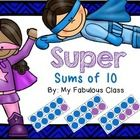 This is a fun way for your students to practice their sums of ten. This center is can be used all year long. There are two different games you can...