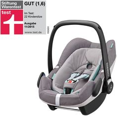 Maxi-Cosi Pebble Plus Babyschale - concrete grey - Modell 2016 001