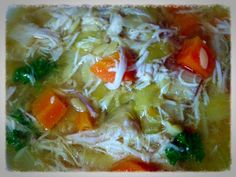 Chicken Soup For Colds & Flus.