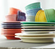 Emma Salad Plate & Snack Bowls