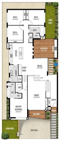 Stunning Narrow Lot House Plans & Home Designs.                                     As you're