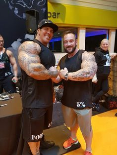 Me and rich piana