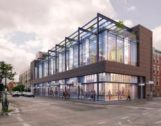 Three-Story Mixed-Use Commercial Building Planned At 124 North 6th ...