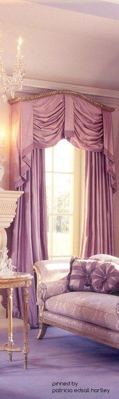 Dream of the princess room, white aluminium window