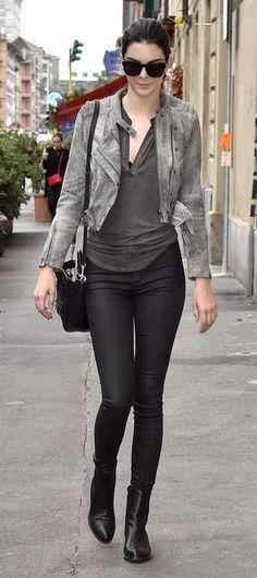 How to Look Taller Instantly – As Demonstrated by Kendall Jenner   Savoir Flair