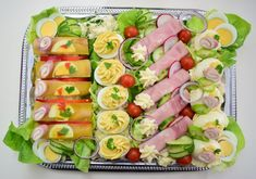 Hungarian Recipes, Food Platters, Winter Food, Bacon, Food And Drink, Appetizers, Cooking Recipes, Easter, Ethnic Recipes