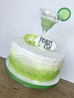 Margarita birthday cake