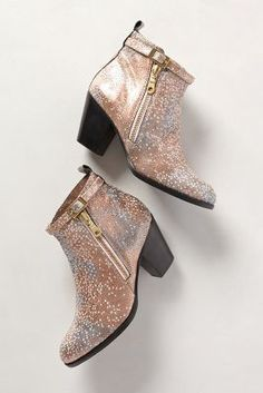 Modern Vice Stingray Booties. Available at Anthropologie. Made in USA