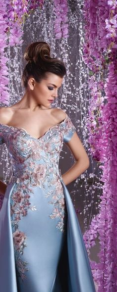 Toumajean couture Spring-summer 2016 - Couture - http://www.orientpalms.com/Toumajean-couture-6259