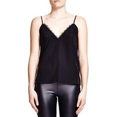 The Kooples Lace Trim Camisole as seen on Ashley Benson