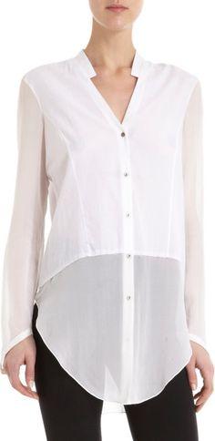 Helmut Lang Lawn Shirt at Barneys.com