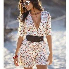 women fashion style clothing outfit summer sunglasses belt dress bracelet beautiful