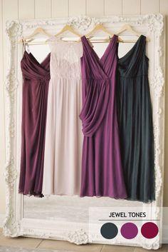 Jewel tones - Autumn wedding colour combinations | fabmood.com More