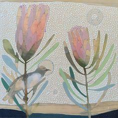 19 veces he visto estas agraciadas comedores pequeños. Painting Inspiration, Art Inspo, Protea Art, Artist Sketchbook, Art File, Botanical Art, Art Lessons, Collage Art, Painting & Drawing