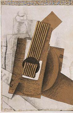 George Braque - Mandoline, 1914
