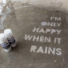 sidewalk stencil RustOleum NeverWet repels water @homedepot