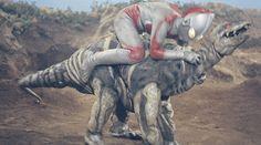 Stegon (ステゴン, Stegon) is a revived dinosaur skeleton from the series Return of Ultraman. He...