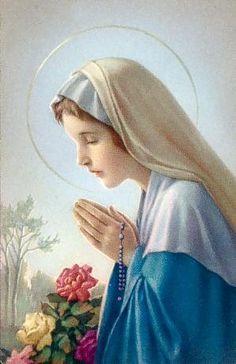 Virgen María .-