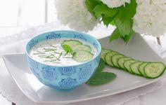 Sos jogurtowo ziołowy idealnie dada się do ryb z grilla! #intermarche #grill #sos #ryba