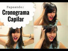 Vídeo sobre cronograma capilar. Canal de moda brasileiro no Youtube. #youtuber