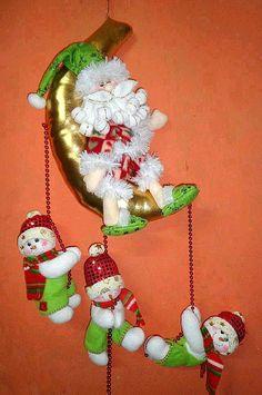 Resultado de imagen para muñecos de nieve en columpio