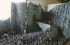 El señor de los anillos, en 150.000 piezas de Lego (FOTOS)