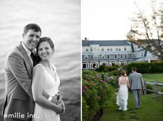 Scarborough wedding of Christine and Nathan at the Black Point Inn