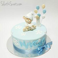 Najlepše torte za prvi rođendan .. #SlatkiSvet #1st #birthdaycake #bear #amazing #beautiful #tortenovisad  #amazingsweets #winter #snowflakes #snow  #besten #cake  #cakelover #beograd #novisad #balloons #cakedesign #handmade #exclusive  #ручнаяработа #sugarart #torten #picoftheday #nofilter #1stbirthday ❄⛄ .. Ostavite ime prijatelja u komentar kojem bi se svidela ova torta  .. Pravilo: 1 komentar = 1 prijatelj  Možete staviti više komentara ..