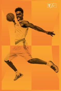 """Check out this @Behance project: """"Tennessee Men's Basketball //  Poster Design"""" https://www.behance.net/gallery/49012005/Tennessee-Mens-Basketball-Poster-Design"""