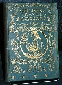 Book 📚Shelf by the Shore ⚓♡⊰⛵                 .⚓  Gulliver's Travels   1909