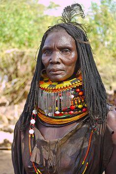 Turkana people, Kenia, Kenya, Tribes, stammen, Turkana people, Turkana lake by Rita Willaert