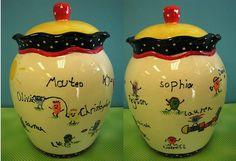 RuffleWare Teacher Jar by Chesapeake Ceramics, via Flickr