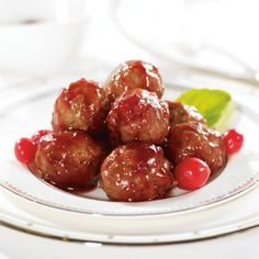 Cranberry Glazed Cocktail Meatballs   PC.ca