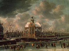 Zodra het begint met vriezen beginnen ook de speculaties: Elfstedentocht? Schaatsen op de Amsterdamse grachten? In de 17e eeuw keek men ook al uit naar het moment dat zij konden schaatsen en sleeën op de grachten. Je leest er meer over in #020today: http://hart.amsterdammuseum.nl/93579/nl/020today-ijsvermaak-bij-noorderkerk