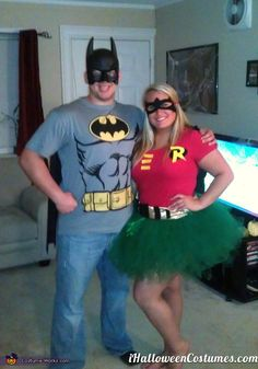 batman robin costumes - Halloween Costumes 2013