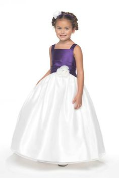Purple flower girl dress - Purple Wedding Ideas - Pinterest ...