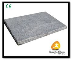 The antique surface bluestone limestone panels, it is flamed +brushed treat.  http://www.kungfu-stone.com/flamedantique-blue-stone-paver.html