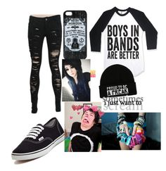 """Day With Dan"" by ur-local-emo ❤ liked on Polyvore featuring Vans"