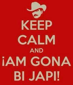 Keep calm & aim gona bi japi !