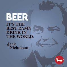 We can handle that truth. Frankenmuth Brewery, Beer Quotes, Jack Nicholson, Handle, Photo And Video, Canning, Drinks, Board, Instagram