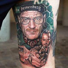 Realism Movies Tattoo by Qtattoo Lee