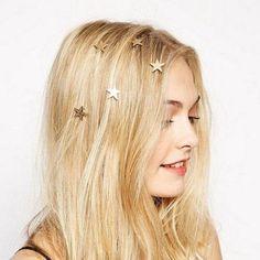 Star Spiral Hair Clips For Girls Golden Hairpins Women Vintage Korean Fashion Hair Accessories Hair Claw Box Braids Hairstyles, App Store, Gold Hair Accessories, Accessories Online, Romantic Updo, Barrettes, Bling, Hair Claw, Pearl Hair
