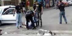 Policias anti-narcótico golpean candidato a diputado UDC Ariel Modesto Rosario García; destruyen cristales de su automóvil