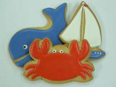 Google Image Result for http://adozeneggs.com/wordpress/wp-content/uploads/2010/08/crab-whale-sailboat-cookies.jpg