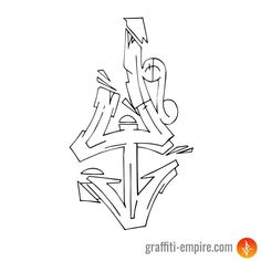 Wildstyle Y Graffiti Letter Grafitti Letters, Graffiti Alphabet Styles, Graffiti Lettering Alphabet, Graffiti Font, Graffiti Characters, Graffiti Styles, Street Art Graffiti, Graffiti Tattoo, Graffiti Drawing