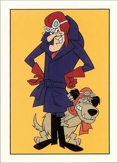 Satanas & Diabolo = Dick Dastardly & Muttley.